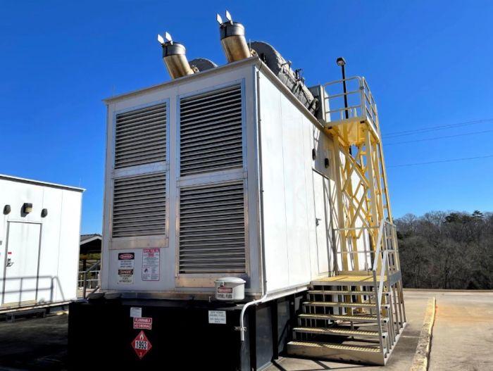 Cummins QSK50-G4 - 1250kW  Diesel Generator Set