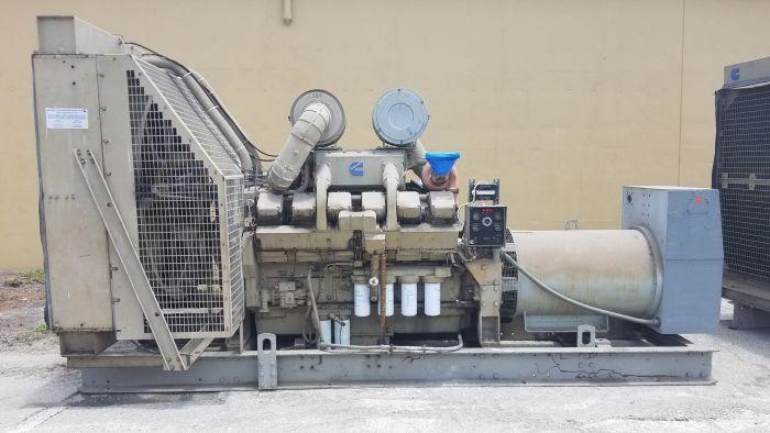 Cummins KTA2300 - 750kW Diesel Generator Sets (2 Available)