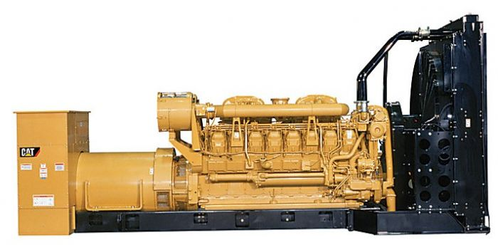 Caterpillar 3516B - 2000KW Diesel Generator Set (2 Available)