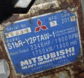 Mitsubishi S16R-Y2PTAW-1 - 1440kW PRIME Tier 2 Mobile Power Module