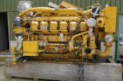 Item# E4227 - Caterpillar 3512B Marine 1250HP, 1600RPM Diesel Engine