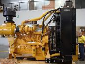Item# E4210 - Caterpillar C18 Industrial 600HP, 1800-2100RPM Diesel Engine