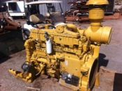 Item# E4246 - Caterpillar 3406C DITA Industrial 519HP, 1800RPM Diesel Engines (3 Available)