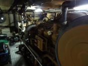 Item# E4250 - Caterpillar 3508B Marine 1050HP, 1800RPM Diesel Engine