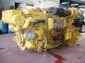 Item# E4260 - Caterpillar 3412C Marine 1350HP, 2300RPM Diesel Engine