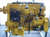 Item# E4264 - Caterpillar C15 Industrial 475HP, 2100RPM Diesel Engine
