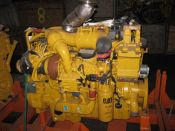 Item# E4279 - Caterpillar C9 400HP, 2100RPM Industrial Diesel Engine