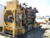 Item# P6060 - Caterpillar 3612 Diesel 3.3MW, 4160V Power Plant