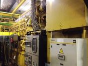 Item# P6096 - Caterpillar G3616SITA Natural Gas 3830KW, 4790Kva, 50Hz, 5500V Generator Sets (2 Available)