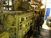 Item# P6120 - Caterpillar G3532 (4 x G3516) Natural Gas 4160KW, 8320Kva, 50Hz, 400V Power Plant (2 Sets Available)