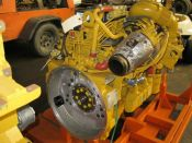 Item# E4271 - Caterpillar C9 425HP, 2100RPM Industrial Diesel Engines (2 Available)