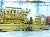 Item# P6131 - Caterpillar G3616 Natural Gas 3655KW, 4568KVA, 50Hz, 6000V Reciprocating Power Plants (Several Available)
