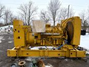 Caterpillar 3412 - 500kW Diesel Generator Set